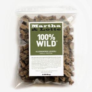 Martha Lotte Hundeleckerli 100% Wild für Allergiker