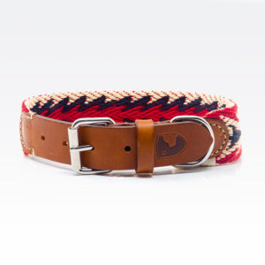Buddys Hundehalsband Peruvian Arrow Red 01