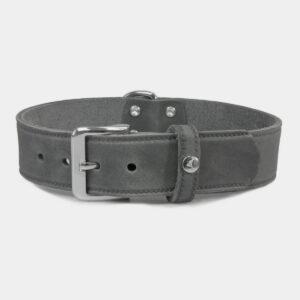 Das Lederband Hundehalsband Weinheim Granite L