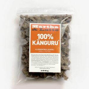 Martha Lotte Hundeleckerli 100% Känguru für Allergiker