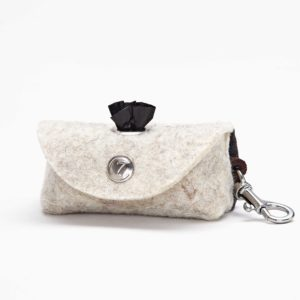 Cloud7 Doggy-Do-Bag mit Karabiner Silber